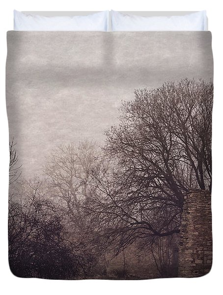 Winter Without Snow Duvet Cover