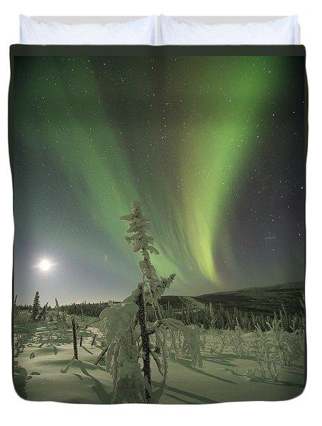 Winter Wonderland Aurora Duvet Cover