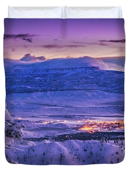 Winter Wonderland Duvet Cover by Edgars Erglis