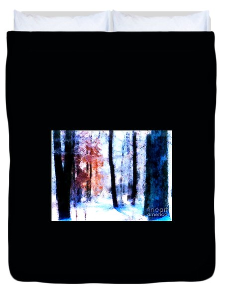 Winter Woods Duvet Cover by Craig Walters
