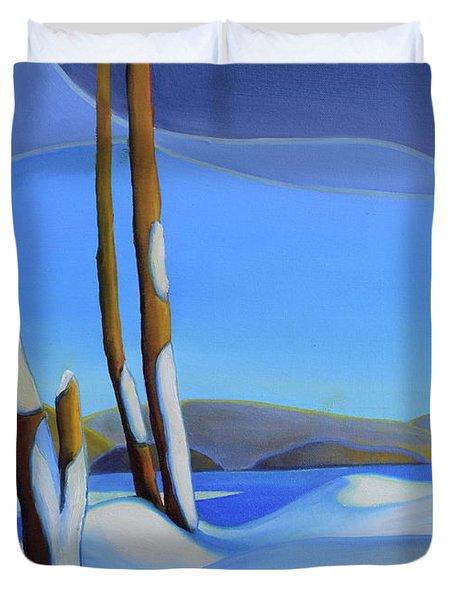 Winter's Calm Duvet Cover