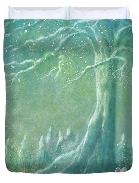 Winters Coming Duvet Cover