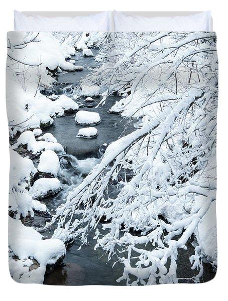 Winters Creek- Duvet Cover