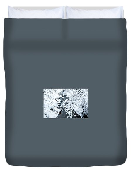 Winters Creek- Duvet Cover