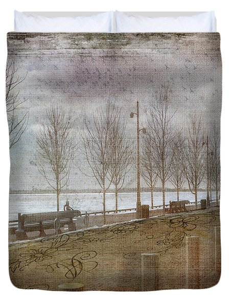 Winters Edge Duvet Cover