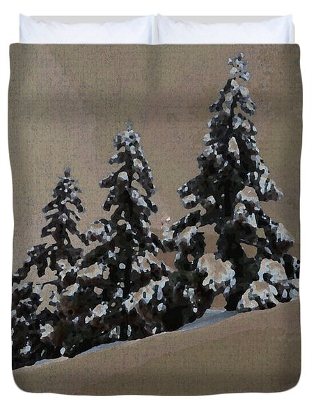 Winters Eve Duvet Cover
