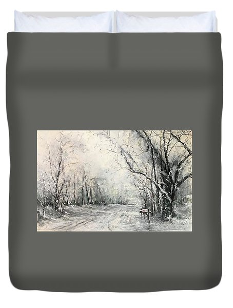 Dee Street Series Winter Wonderland Duvet Cover