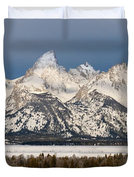 Winter's Majesty Duvet Cover