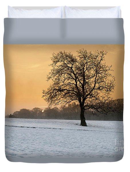 Winters Morning Duvet Cover