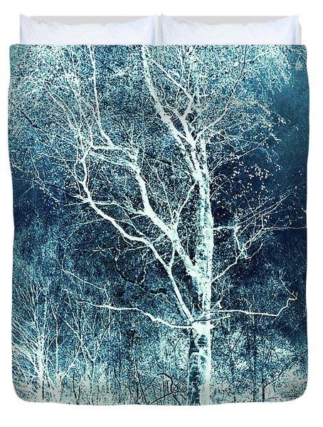 Winter's Peace Duvet Cover