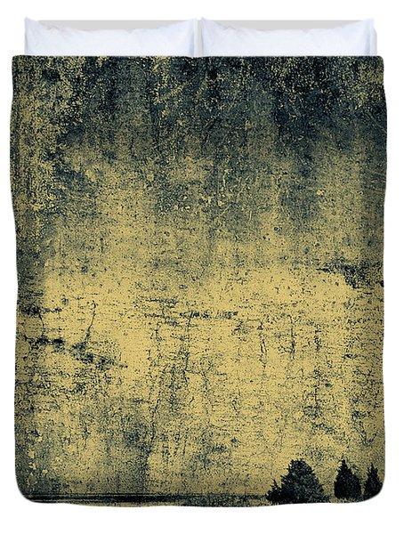 Winters Silence Duvet Cover