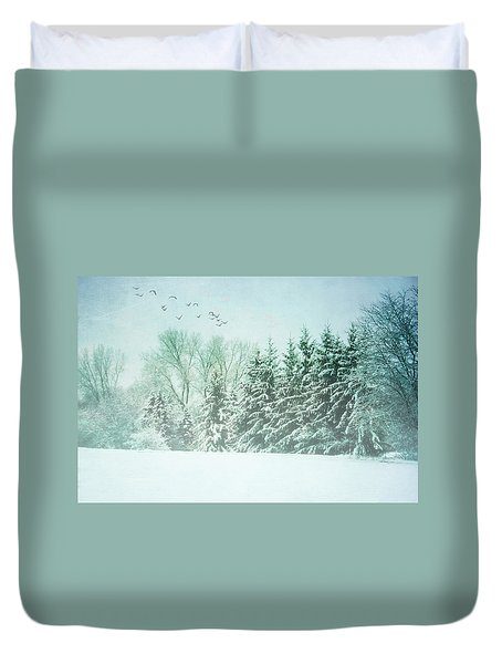 Winter's Watch Duvet Cover