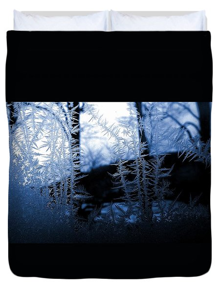Duvet Cover featuring the photograph Wintertide by Danielle R T Haney