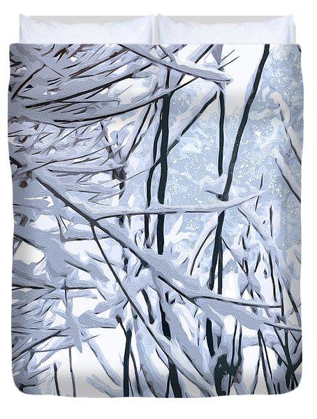 Wintertide Duvet Cover