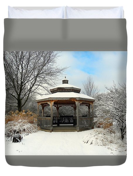 Wintertime Duvet Cover