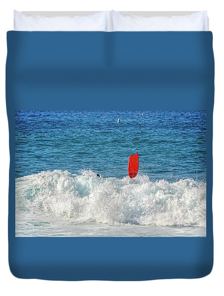 Wipe Out Duvet Cover