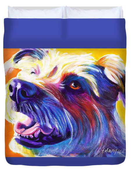 Wire Hair Terrier - Penny Duvet Cover