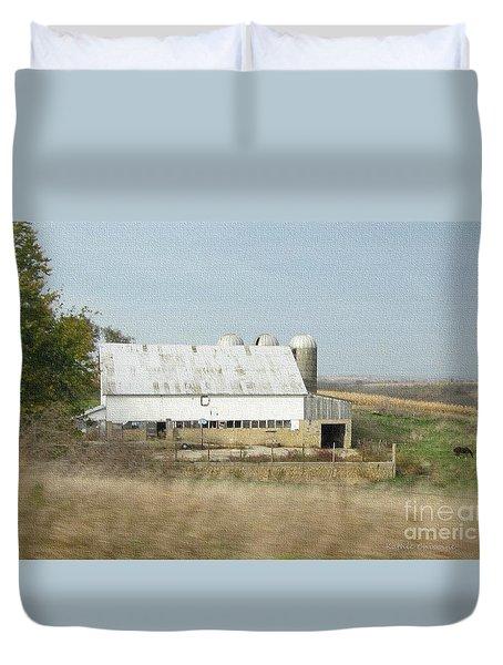 Wisconsin Dairyland Duvet Cover