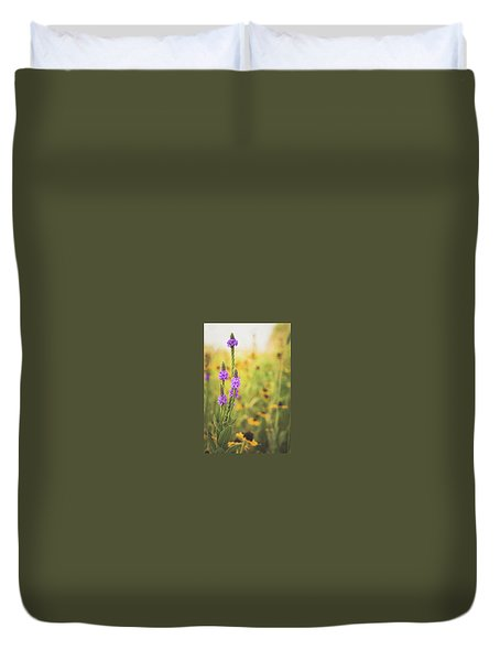 Wisconsin In July Duvet Cover