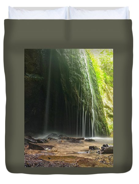 Wisconsin Waterfall Duvet Cover