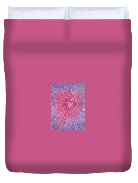 Wisdom Of The Heart Duvet Cover