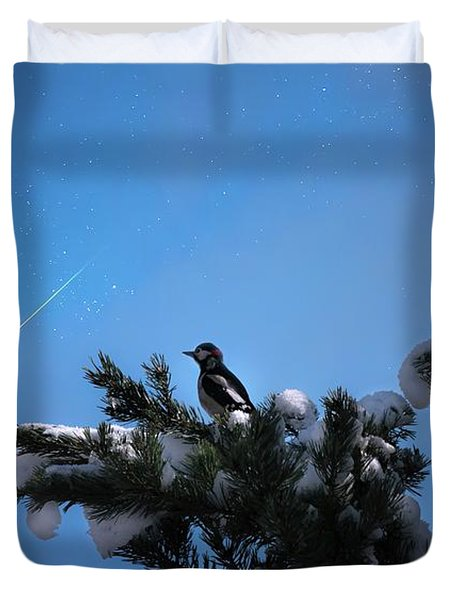 Wish Upon A Shooting Star Duvet Cover