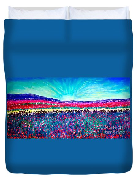Wishing You The Sunshine Of Tomorrow Duvet Cover