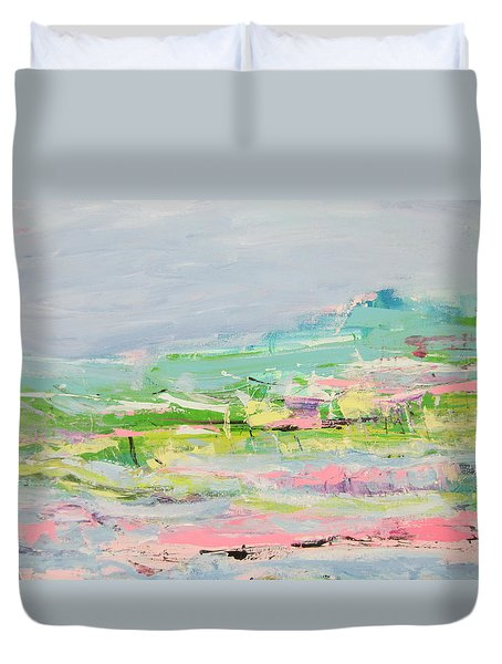 Wishing You Were Here Duvet Cover
