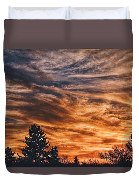 Duvet Cover featuring the photograph Wisp by Nikki McInnes