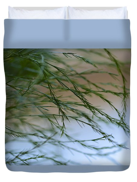 Duvet Cover featuring the photograph Wisps From A Dream by Corinne Rhode