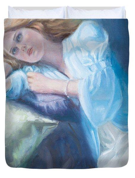 Wistful Duvet Cover by Sarah Parks