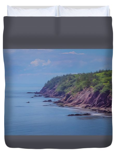 Wistful Songs Of The Ocean Duvet Cover