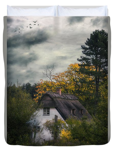 Witch Cottage Duvet Cover