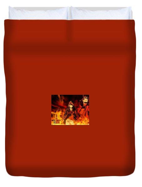 Witch Hunter Robin Duvet Cover