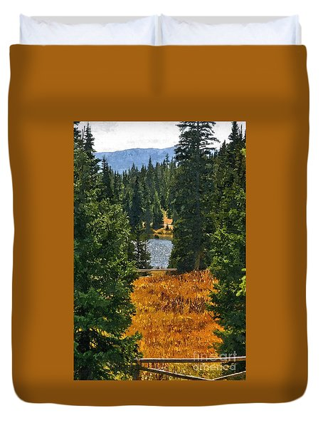 With A View Duvet Cover