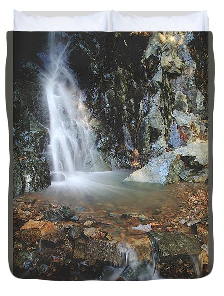 Duvet Cover featuring the photograph With Heart And Soul by Laurie Search