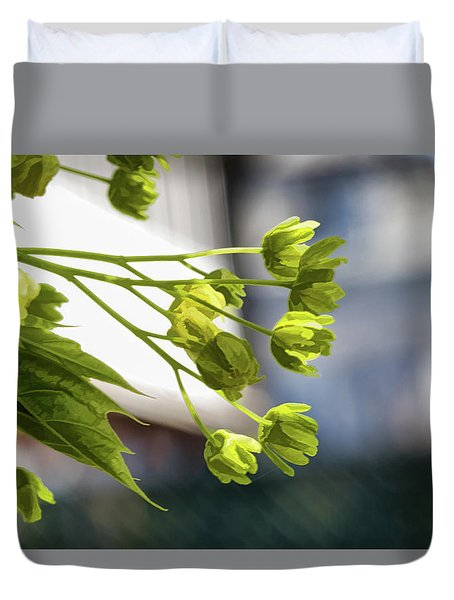 With The Breeze - Duvet Cover