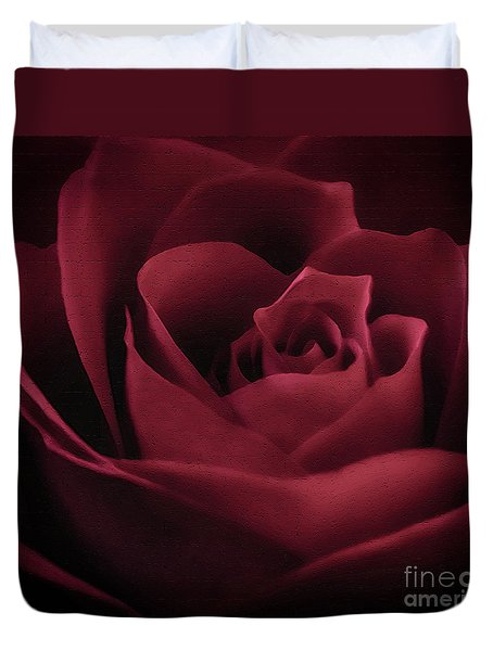 With This Rose Duvet Cover