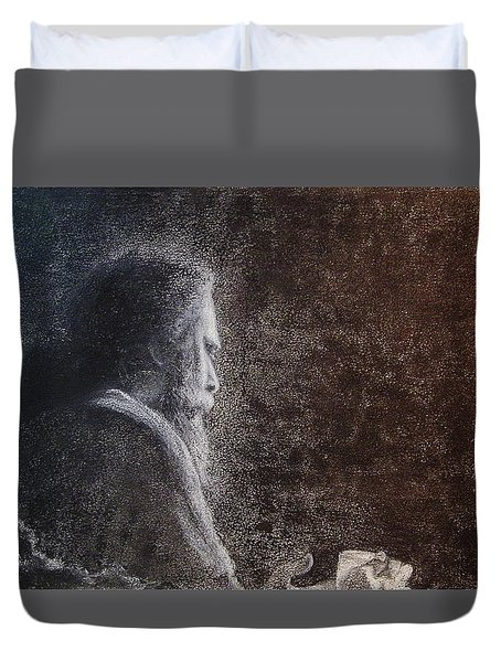 Within The Flicker Of Dreams Duvet Cover