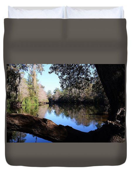 Withlacoochee Overlook Duvet Cover