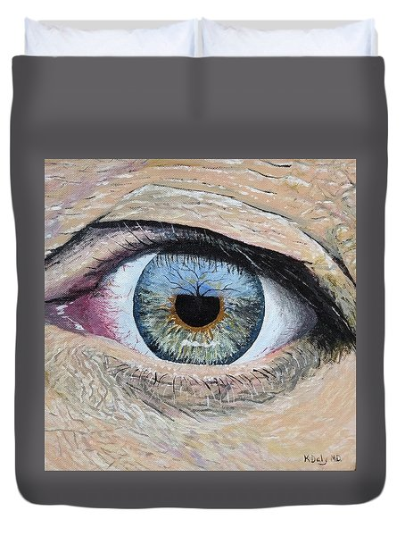 Witness Duvet Cover