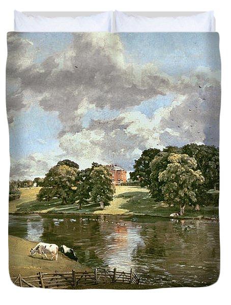 Wivenhoe Park Duvet Cover by John Constable