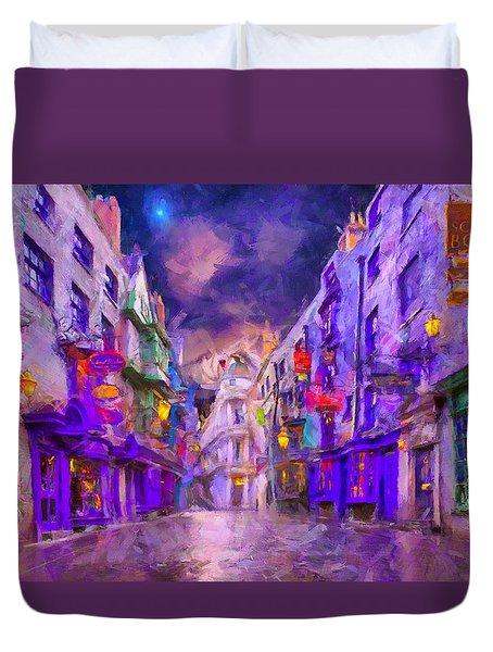 Wizard Mall Duvet Cover