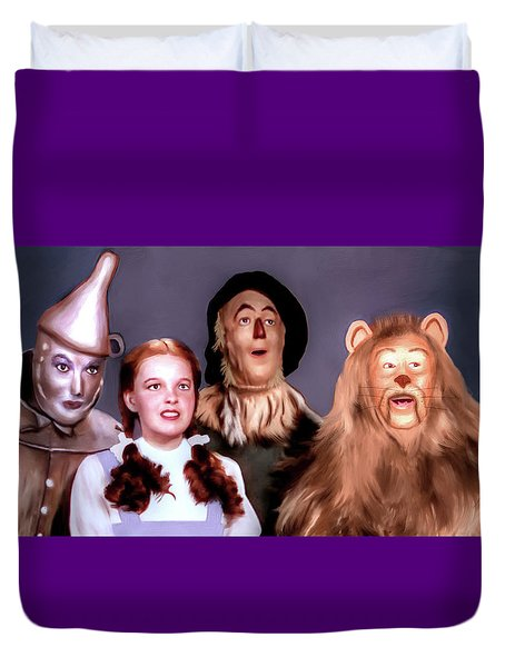 Wizard Of Oz Duvet Cover by Pennie  McCracken