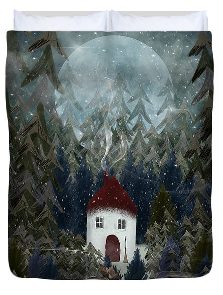 Wizard Wood Duvet Cover