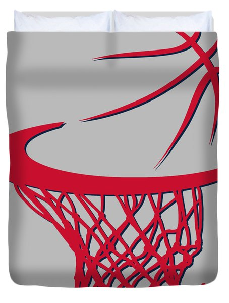 Wizards Basketball Hoop Duvet Cover
