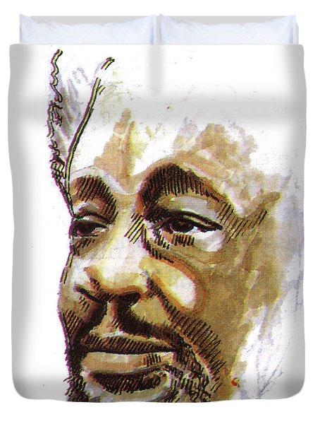 Wole Soyinka Duvet Cover