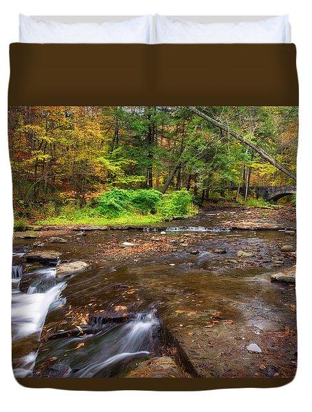 Wolf Creek 2 Duvet Cover by Mark Papke