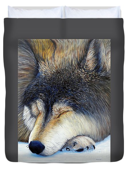 Wolf Dreams Duvet Cover