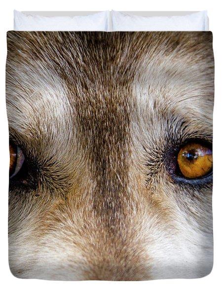 Wolf Eyes Duvet Cover